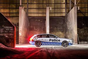 Bilder Audi Seitlich Polizei Kombi 2015 RS 4 Avant auto
