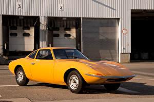 Fotos Opel Retro Gelb 1965 Experimental GT