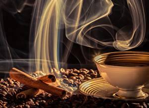 Fotos Zimt Kaffee Rauch Getreide Dampf Lebensmittel