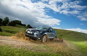 Hintergrundbilder Volkswagen Landschaftsfotografie Himmel Graues Schlamm 2015 Touareg Escape auto