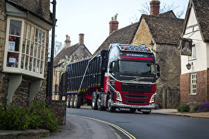 Wallpapers Volvo Lorry Roads  Cars