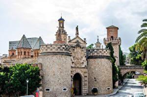 Bilder Spanien Burg Mallorca Palma de Mallorca Bellver Castle