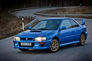 Fotos Subaru Metallisch Blau 1998 Impreza 22B STi LHD (GC8E2SD)
