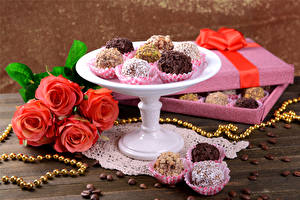 Image Sweets Candy Roses Jewelry Coffee Box Grain Food