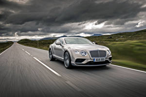 Photo Bentley Driving 2015 Continental GT Nature