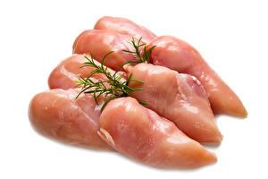 Hintergrundbilder Fleischwaren Dill Hühnerfleisch