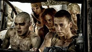 Hintergrundbilder Mad Max: Fury Road Charlize Theron Mann Film Prominente