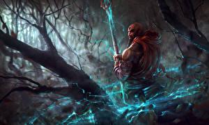 Bilder Krieger Diablo III Magierstab Mönch reaper of souls monk Spiele Fantasy
