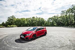 Photo Honda Red 2015 Civic Type R UK-spec Cars