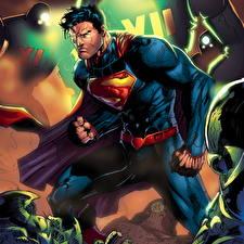 Bakgrunnsbilder Superhelter Supermann helten Clark Kent, Kal-El