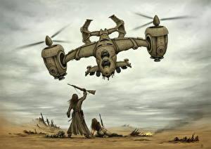 Fotos Wandelflugzeug Soldaten Fantasy
