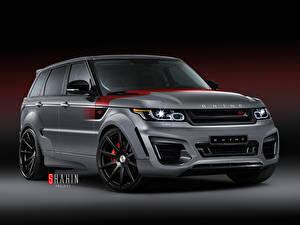 Hintergrundbilder Land Rover Grau 2015 Sport RHINO SS automobil