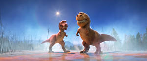 Images The Good Dinosaur Two Cartoons