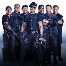 Desktop wallpapers The Expendables 2010 Men Movies Celebrities