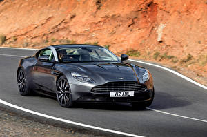 Bilder Aston Martin Grau 2016 DB11 Autos