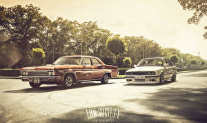 Images Chevrolet BMW Two Impala 1966 3 series automobile