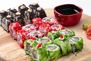 Hintergrundbilder Meeresfrüchte Sushi Sojasauce das Essen