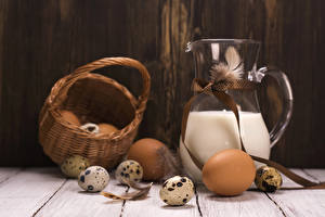 Images Milk Feathers Wicker basket Egg Food