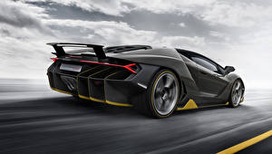 Hintergrundbilder Lamborghini Grau Luxus Hinten 2016 Centenario Autos