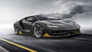 Hintergrundbilder Lamborghini Grau Luxus 2016 Centenario
