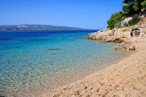 Image Croatia Coast Sea Nature