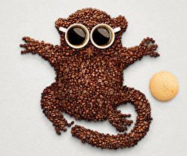 Fotos Kaffee Getreide Design Tasse Lebensmittel