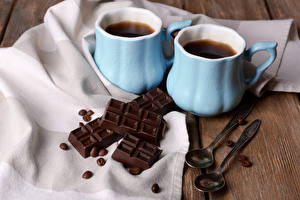 Images Drink Coffee Chocolate Cup Two Spoon Grain Food