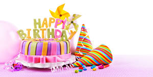 Image Torte Holidays Birthday White background