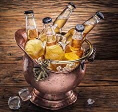 Hintergrundbilder Getränke Bier Flasche Eis Lebensmittel