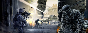 Images Call of Duty 4: Modern Warfare Soldier War vdeo game