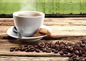 Fotos Kaffee Tasse Getreide Untertasse Dampf Lebensmittel