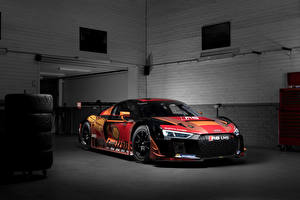 Wallpapers Audi Tuning 2015 R8 LMS Cars