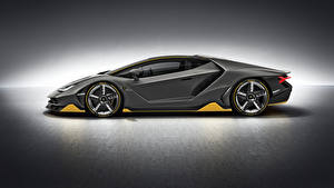 Photo Lamborghini Side Grey Centenario