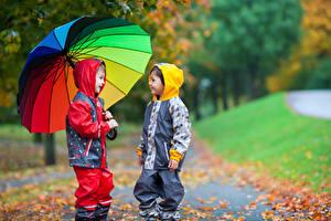 Wallpaper Boys 2 Umbrella Jacket Children
