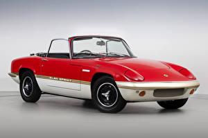 Pictures Lotus Vintage Red Metallic Cabriolet 1971-73 Elan Sprint Drophead Coupe auto