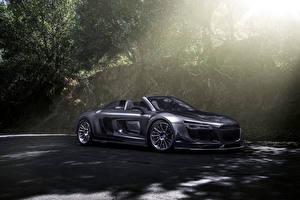 Wallpapers Audi Cabriolet R8 PPI Razor GTR, Spyder automobile