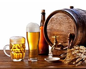 Picture Beer Cask Mug Stemware Food