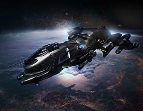 Bureaubladachtergronden Star Citizen Schepen Freelancer DUR computerspel Ruimte Fantasy