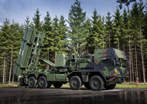 Image Lorry Missile launchers 2004-2016 MAN SX Military KMW Armoured Cab Army