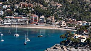 Fotos Spanien Küste Gebäude Mallorca Port de Soller
