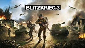 Hintergrundbilder Blitzkrieg Soldaten Panzer 3 Spiele