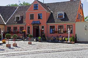 Bilder Litauen Haus Klaipeda
