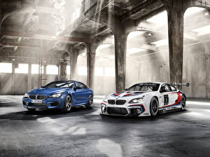Wallpaper BMW Two 2012 M6 F6 F13 Cars