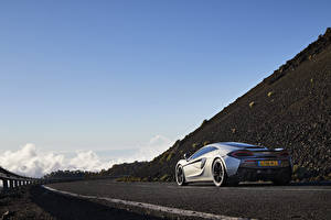 Wallpapers McLaren Back view 570GT automobile