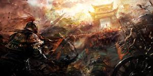 Picture Warriors Battles War Fantasy
