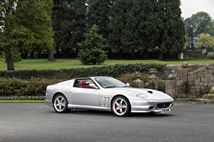 Pictures Ferrari Pininfarina Silver color Convertible 2005-06 Superamerica with -Fiorano-Handling Package Worldwide Cars