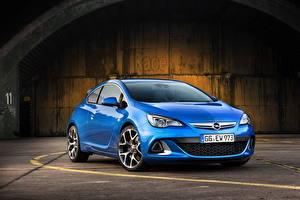 Hintergrundbilder Opel Blau 2011 Astra OPC