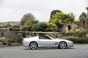 Image Ferrari Pininfarina Silver color Side Cabriolet 2005-06 Superamerica with -Fiorano-Handling Package Worldwide Cars