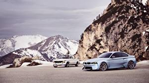 Pictures Mountains BMW 2002 Hommage Concept automobile