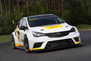 Bilder Opel Weiß Astra TCR International Series